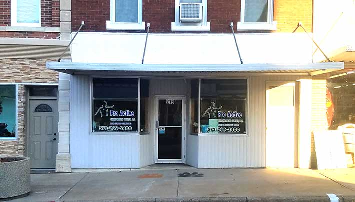 Chiropractic Palmyra MO Office Building